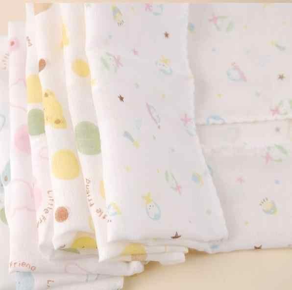 5 個ベビーガーゼモスリンスクエアコットン供給洗浄布ビブタオル 31 * 31a リストバンド動物の音のおもちゃ赤ちゃんおもちゃおもちゃカラフルな