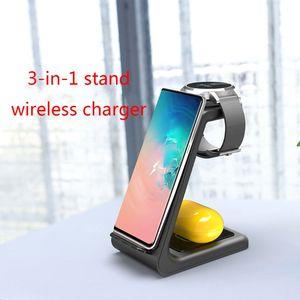 Image 4 - Protable 3In1 אלחוטי מטען טעינת Dock עבור Samsung Galaxy שעון/ניצני אוזניות/עבור iPhone