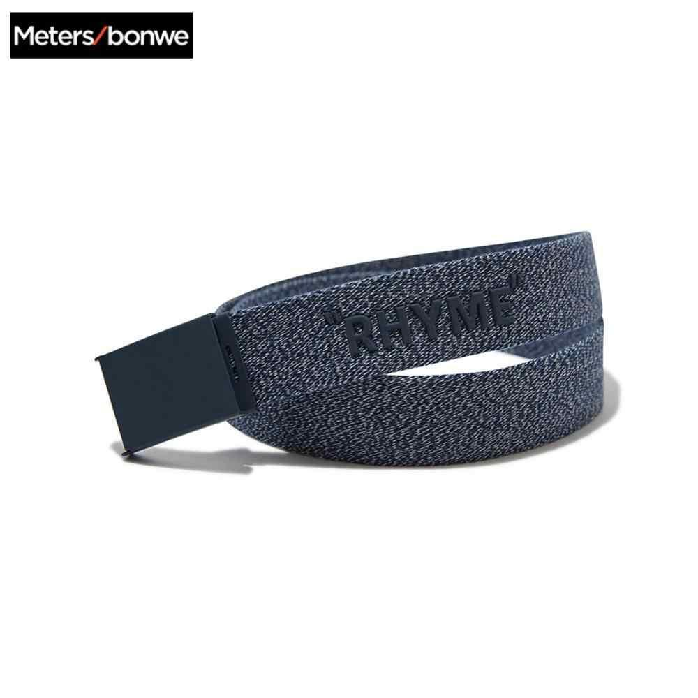 Metersbonwe Intrecciato della cinghia di colore Solido degli uomini 2020 Primavera nuova cinghia Semplice moda casual Bel Giovane cinghia degli uomini