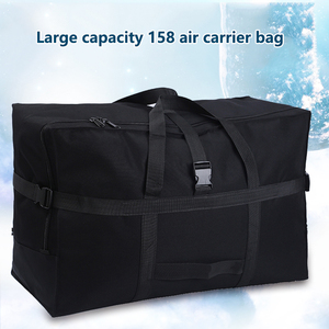 Image 3 - Large capacity luggage bag 158 air shipping package abroad study abroad moving bag Oxford cloth waterproof folding storage