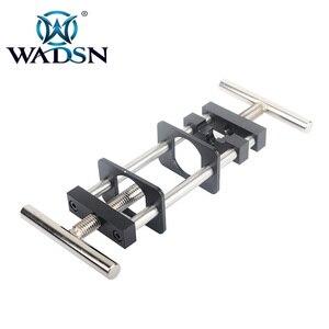 Image 4 - WADSN Tactical Metal Steel Motor Pinion ściągacz narzędzie do montażu instalacja usuń sprzęt do AEG Airsoft akcesoria myśliwskie WEX121