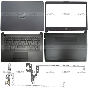 Laptop LCD Back Cover/Front Bezel/Hinges/Palmrest/Bottom Case For HP 14-CM 14-CK 240 245 246 G7 L44056-001 L23491-001 L44057-001 gzeele new base for hp for pavilion 17 3 inche g7 2000 g7 2030 g7 2025 g7 2226nr laptop bottom case cover 685072 001 lower shell