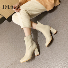 White Boots Women Thigh High Shoes Woman 8cm Big Size