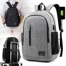 Puimentiua Male Backpack Laptop Notebook Rucksack Travel Backpack Large Capacity Business Schoolbags