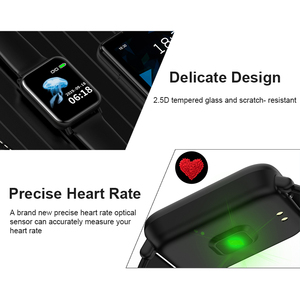 Image 2 - חכם שעון IP68 עמיד למים Smartwatch גברים ספורט קצב לב צג נשים כושר גשש שעון VS Pulseira B57 עבור אנדרואיד/ IOS