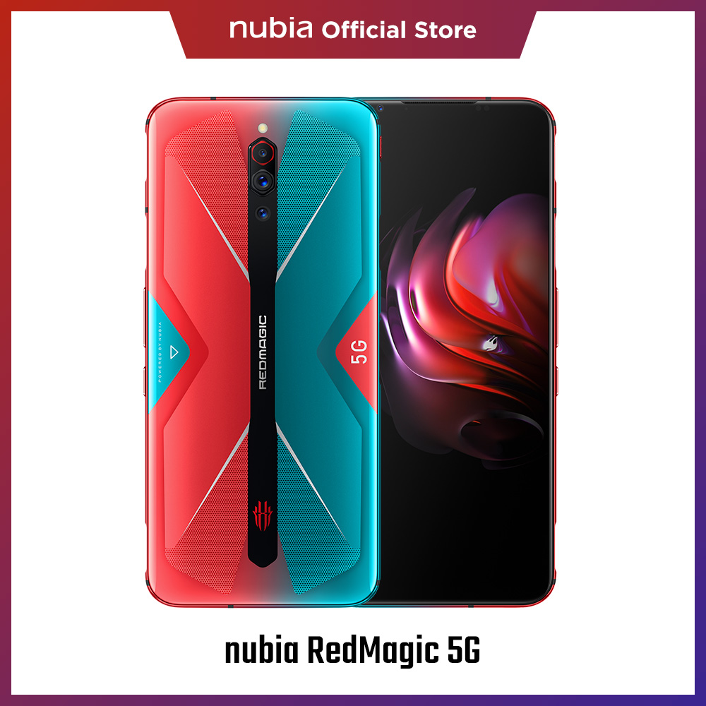 nubia RedMagic 5G Smart Phone 8GB 128GB 6.65 144HZ Snarpdragon 865 64MP Camera 55W 10A Charge 5G Gaming Phone image