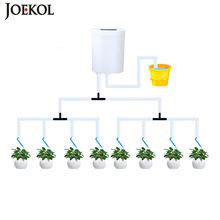 Intelligent Garden Automatic Watering Pump Controller Indoor Plants Drip Irrigation Device Water Pump Timer Watering System Kit cheap JOEKOL CN(Origin) Intelligent Watering Plastic Watering Kits support 1 pcs