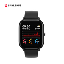SANLEPUS Smart Watch Men Women Touch Fitness Bracelet Tracker Blood Pressure Sma