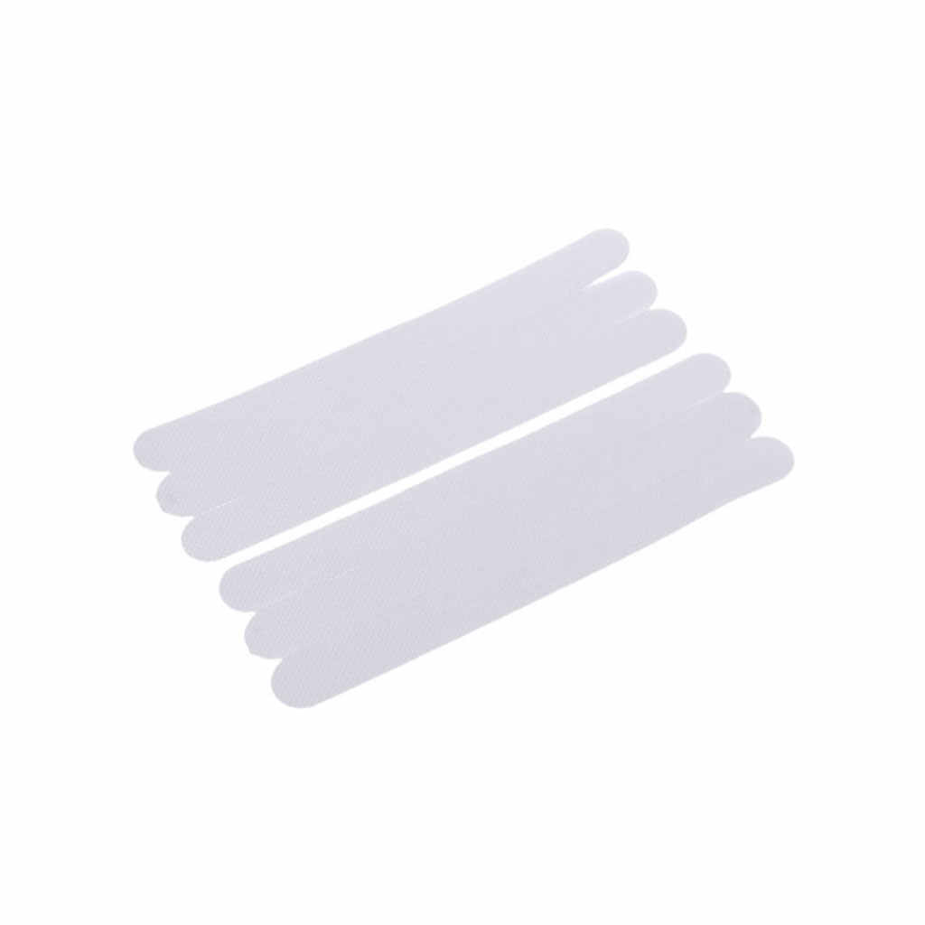 6 Pcs 20X2 Cm Anti Non Slip Mandi Tikar Grip Stiker Shower Strip Lantai Keselamatan Tape Pad Kamar Mandi
