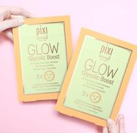 3Pcs Pixi Herbal Essence Facial Mask Glow Glycolic Boost Brightening Infusion Women Moisturizing Firming Skin Care Facial Mask 2