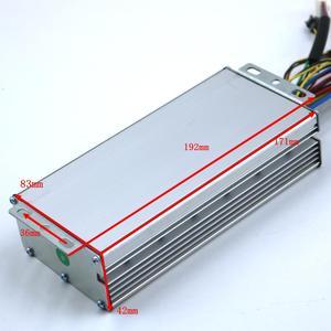 Image 4 - 800W 1000W 35Amax 48V fırçasız DC Motor kontrolörü Ebike denetleyici + KT LCD3 ekran bir Set