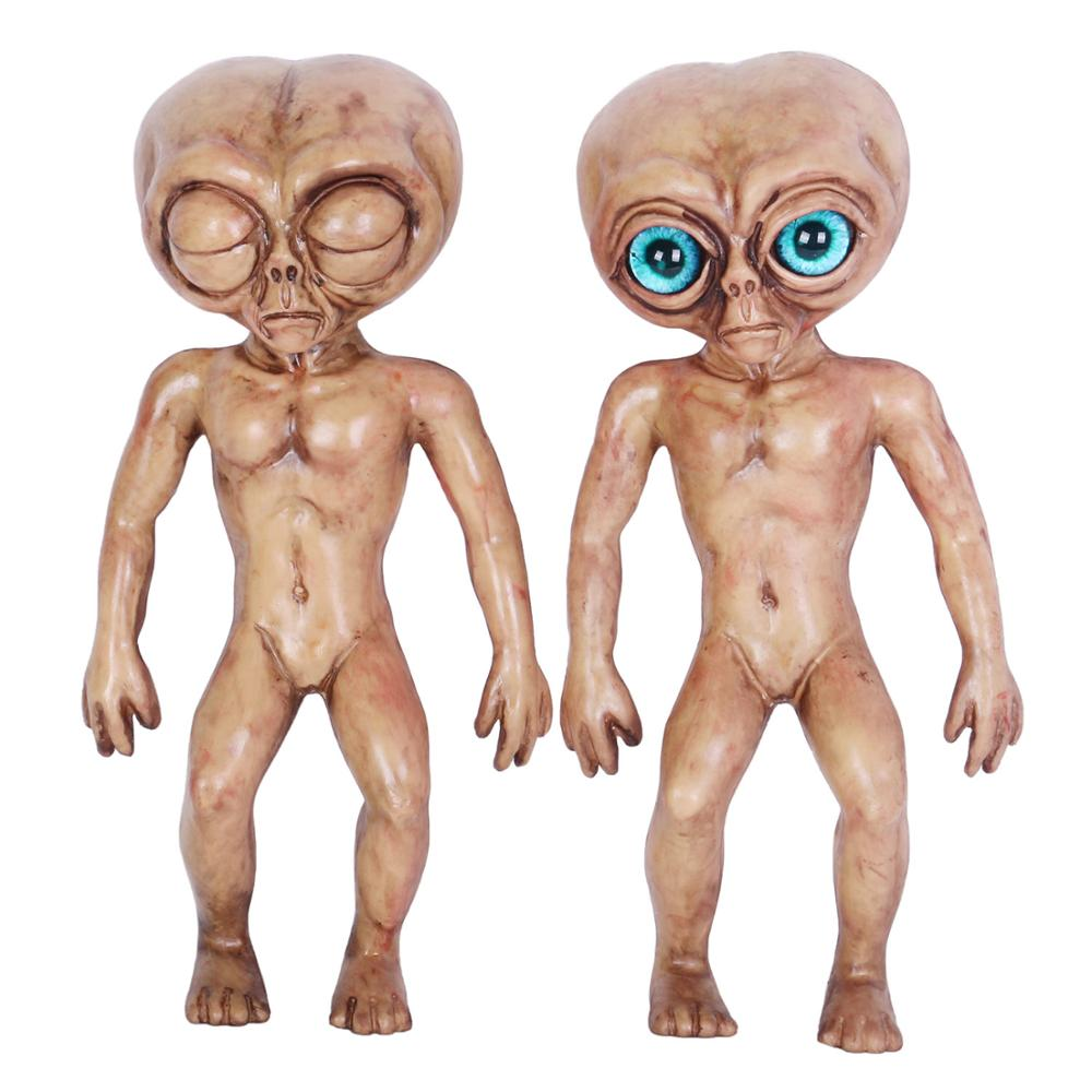 25CM Alien Death Autopsy Prop UFO Roswell Haunted House Lil Mayo Area 51 Halloween Free Shipping
