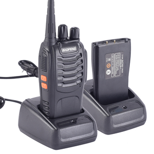 Image 2 - 1PC /2PCS Baofeng bf 888s Walkie Talkie Radio Station UHF 400 470MHz 16CH BF 888s Radio talki walki BF 888s Portable Transceiver