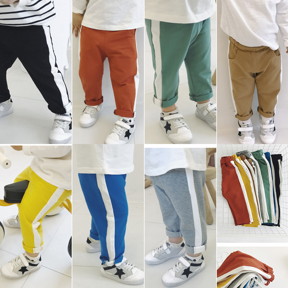 Chifuna 2020 Nuevo Casual Niños Niñas Pantalones Primavera Verano Algodón Pantalones deportivos Ropa para niños Pantalones de ocio para niños