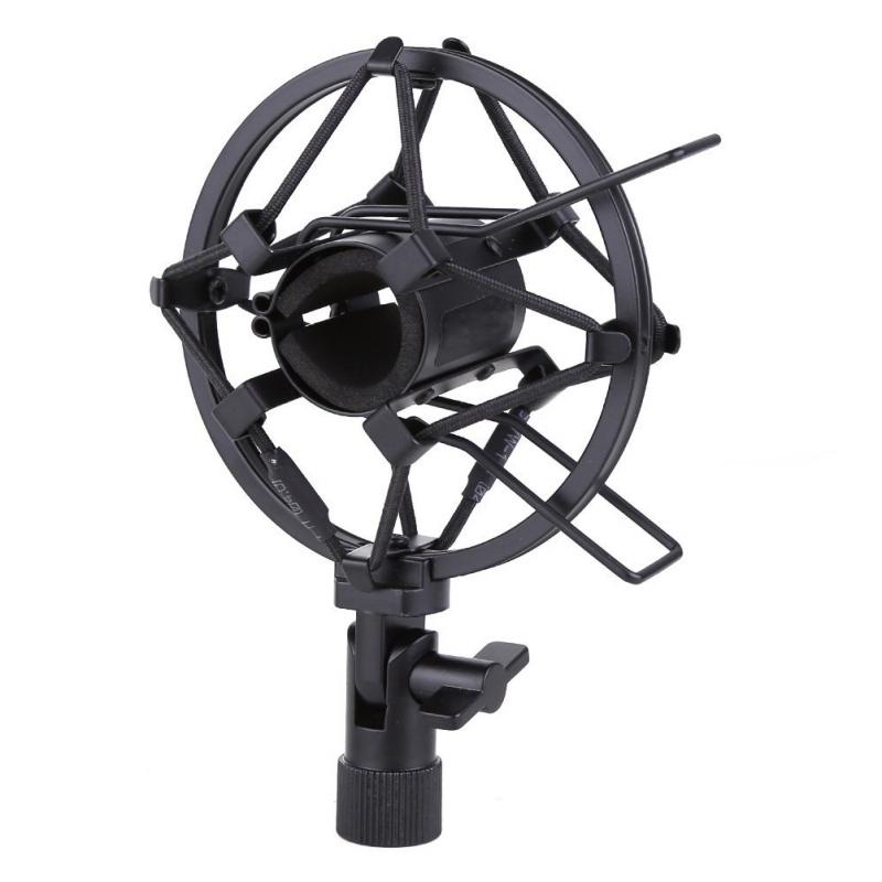 Металлический ударопрочный держатель для студийной записи микрофона