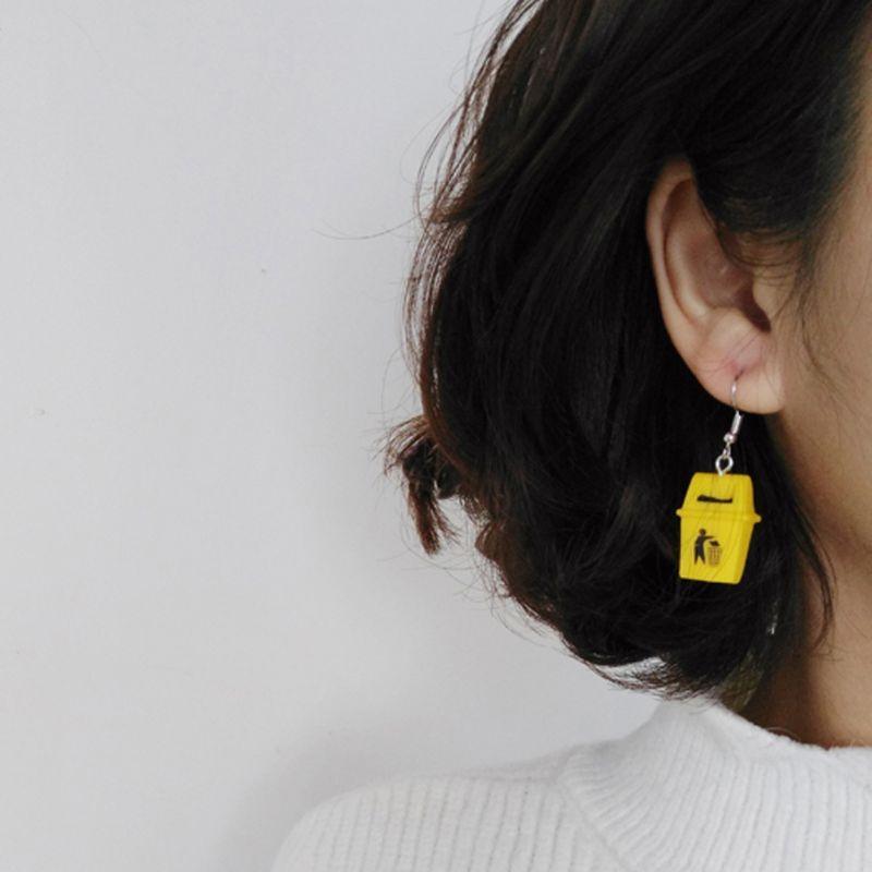 Trash Can Earrings 3