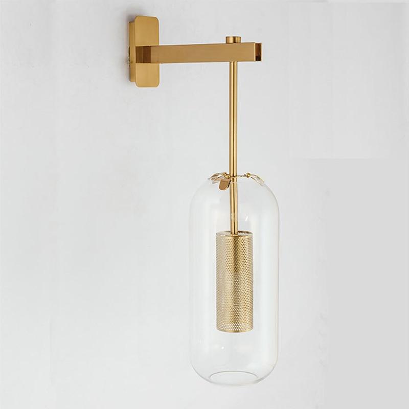 Итальянский дизайн, настенный светильник, золотой прикроватный светильник для спальни, зеркальный светильник, украшение для дома, настенные лампы для дома, современная ванная комната