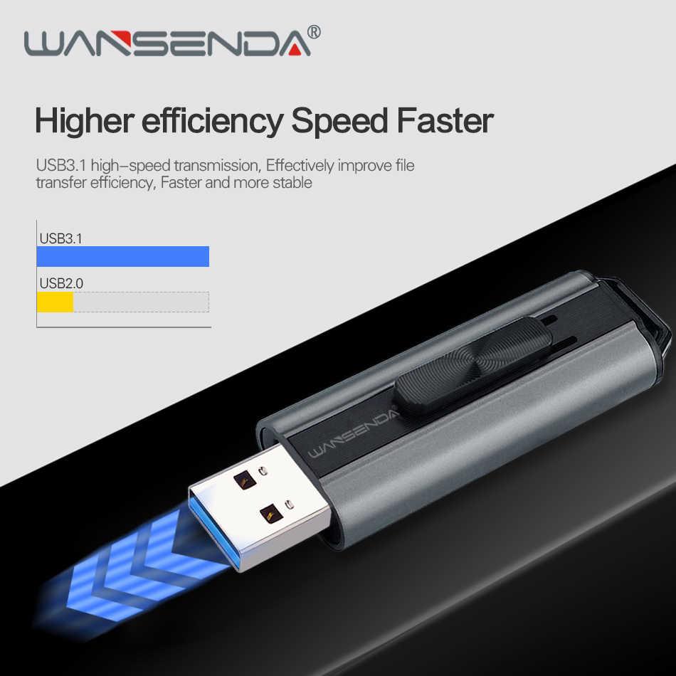 Wansenda usb フラッシュドライブ usb 3.0/3.1 高速ペンドライブ 1 テラバイト 512 ギガバイト 256 ギガバイト 128 ギガバイト 64 ギガバイト 32 ギガバイト 16 ギガバイトメモリスティッククリエイティブ pendrives