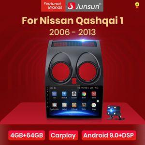 Junsun V1 pro 4G+64G CarPlay Android 9.0 DSP For Nissan Qashqai 2006-2013 J10 Car Radio Multimedia Video Player Navigation GPS(China)