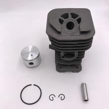 Комплект поршневых колец для двигателя HUNDURE 38 мм и 40 мм, подходит для Husqvarna 141 142 136 137 Jonsered 2040 CS2040, запчасти для бензопилы
