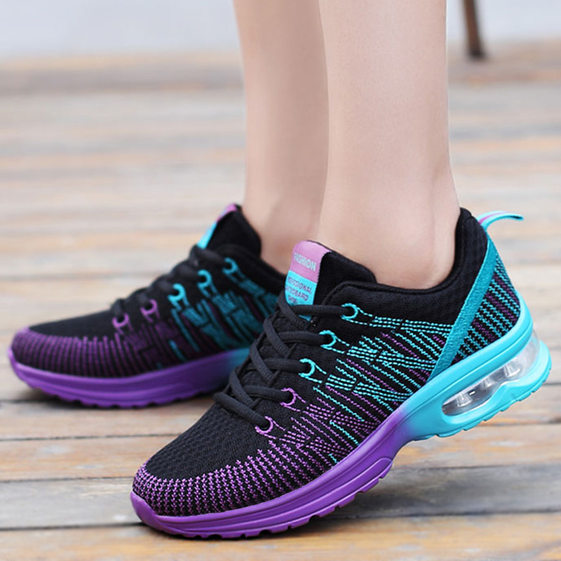 Damyuan summer Woman Sneakers 39 Breathable Women Fashion Sneakers Plus size shoes 43 Women's Air cushion sneakers casual shoes
