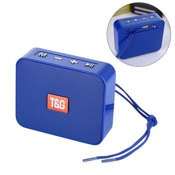 Minialtavoz Portátil con Bluetooth TG166, pequeño altavoz inalámbrico con Bluetooth 5,0, compatible...