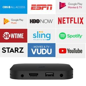 Global Version Xiaomi Mi TV Box S 4K Ultra HD Android TV 8.1 HDR 2G 8G WiFi Google Cast Netflix Smart TV Mi Box 4 Media Player