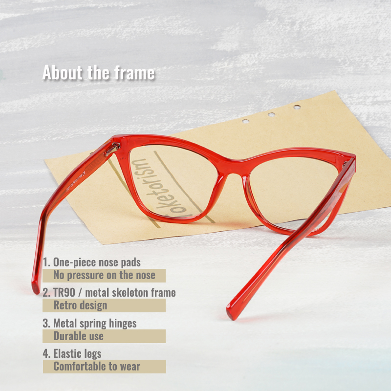 Модные компьютерные очки toketorism с сисветильник винтажные