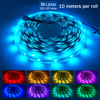 LED Light Strip RGB 5050 Flexible led light strip RGB 5050 led strip 20m Tape DC 12V   40 Keys Music Remote Control   5A Adapter promo