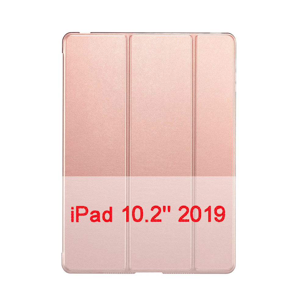 Rose gold Green QIJUN Case For Apple iPad 10 2 2019 iPad 7 7th Generation A2200 A2198 A2232 A2197