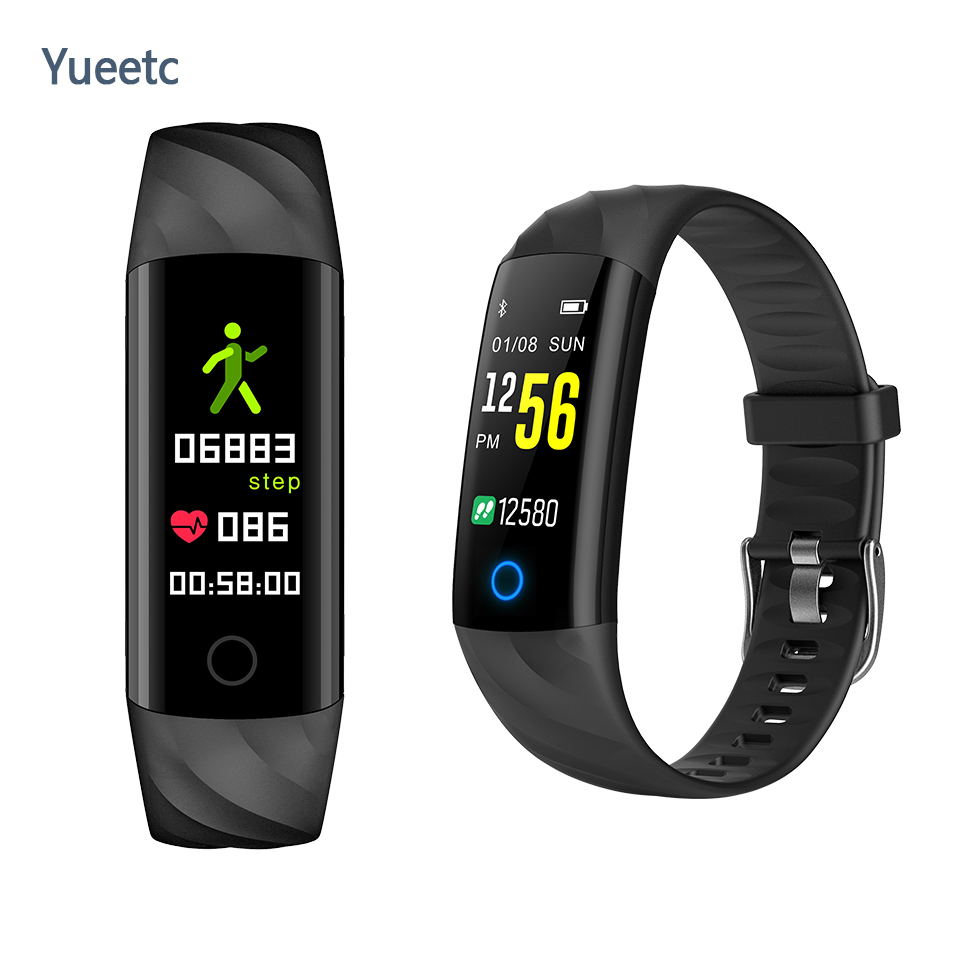 S5 Fashion Smart Watch Waterproof Tracker Watch Heart Rate Blood Pressure Monitor Smartwatch wristband Sports Fitness Bracelet