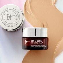цена It Cosmetics Bye Bye Redness Primer Concealer Natural Long-lasting Redness Neutrolizing correcting cream Makeup 11ml DHL Free онлайн в 2017 году
