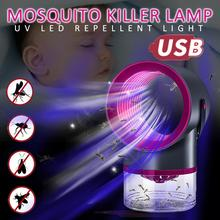 USB Powered Electric Anti Mosquito Killer Lamp UV Night Light UV Photocatalys Bug Insect Trap Light Pest Control Repellent