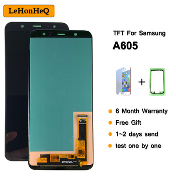 A605 LCD Display For Samsung Galaxy A6+ A605 SM-A605F A605FN A605G A605GN Display touch Screen replacement Digitizer Assembly
