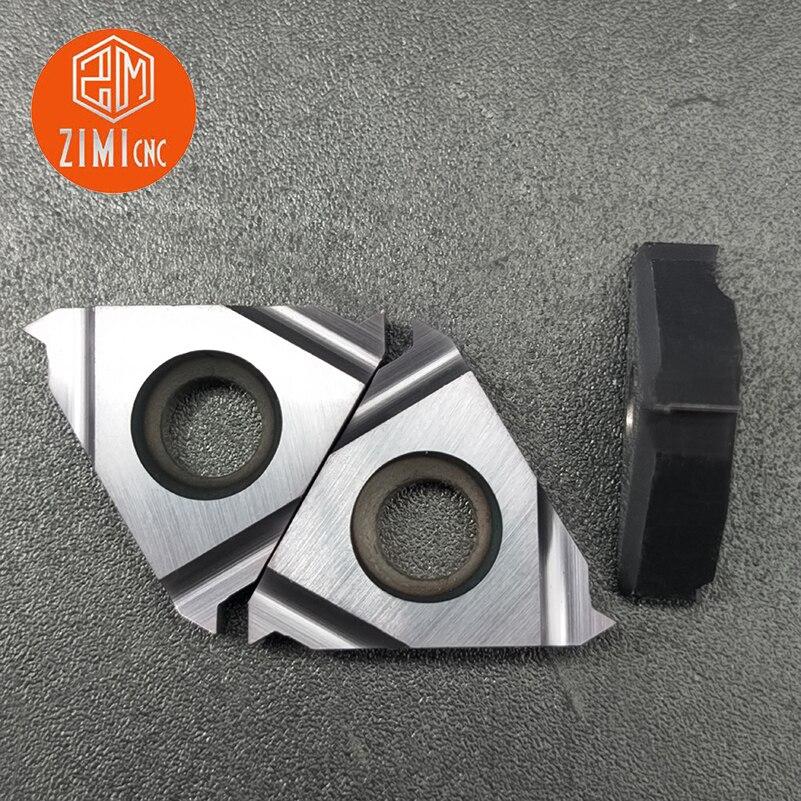 08IR CNC carbide insert Small diameter threaded inserts 10pcs 08IR A60 LDA