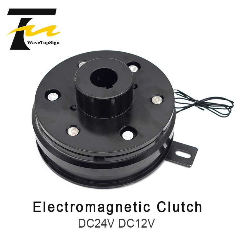 Wavetopsign DLD6-05 10 20 40 80 160 Electromagnetic Clutch Dry Type Single Plate Clutch DC24V DC12V