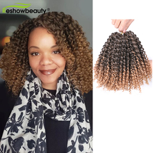 Marley Curly Crochet Braids Goddess Faux Locs Kinky Twist Synthetic Hair For Women Crochet Braiding Hair Extension Reshowbeauty cheap Low Temperature Fiber CN(Origin) Marley Braids 35strands pack Ombre 30g piece 90g pack 40 Roots piece 3 Pieces pack XS-024