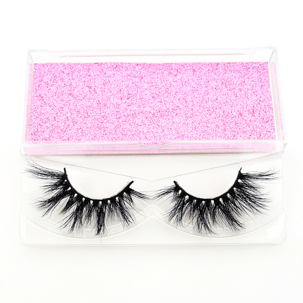 Image 5 - Visofree 25 pairs/lot Mink Lashes 3D Mink Eyelashes Cruelty free Lashes Handmade Reusable Dramatic Eyelashes Makeup False Lashes-in Eyelashes Set from Beauty & Health