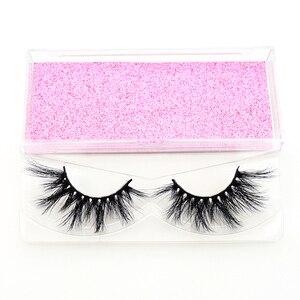 Image 5 - Visofree 25 pairs/lot Mink Lashes 3D Mink Eyelashes Cruelty free Lashes Handmade Reusable Dramatic Eyelashes Makeup False Lashes