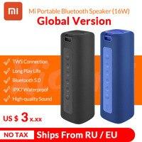2020 nuovo Xiaomi Mi altoparlante portatile bluetooth 16W TWS altoparlanti Stereo Super Bass IPX7 altoparlante esterno impermeabile Mi altoparlante