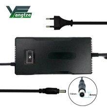 Jangcy 63 V 3A ładowarka do akumulatorów 55.5 V 3A bateria litowa rower elektryczny moc elektronarzędzie ładowarka samochodowa bateria