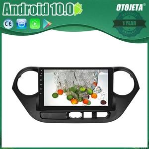 OTOJETA Android 10 2.5D Screen Car Radio Player For Hyundai i10 2016 AUX USB bluetooth Multimedia Stereo GPS Navi tape recorder