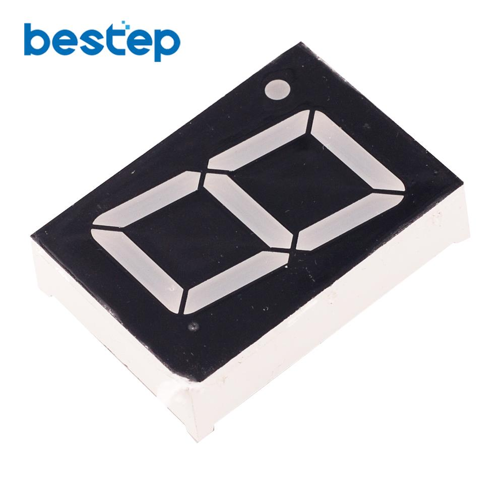 10PCS 1Bit Digital Tube 7 Segment 1.2
