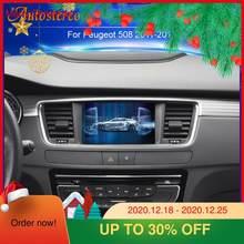 Android 10,0 reproductor de DVD del coche de navegación GPS para PEUGEOT 508 PEUGEOT 2010-2017 unidad de cabeza estéreo para coche Multimedia GPS grabadora IPS