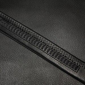 Image 5 - 벨트 남성 정품 가죽 남성 간단한 벨트 패션 디자이너 비즈니스 새로운 벨트 재규어 패턴 장식 합금 자동 버클