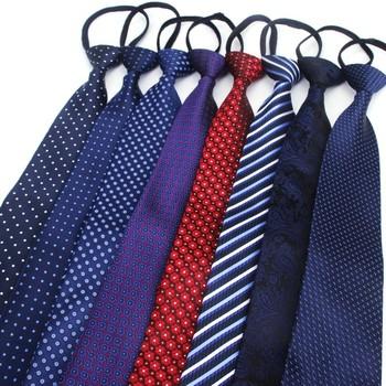 Męskie 8cm skinny zipper krawaty fashion business casual seria lazy tie czarne krawaty dla mężczyzn krawat w paski solid color krawaty tanie i dobre opinie IANTHE WOMEN Moda Poliester CN (pochodzenie) Dla dorosłych Szyi krawat Jeden rozmiar 251875669875