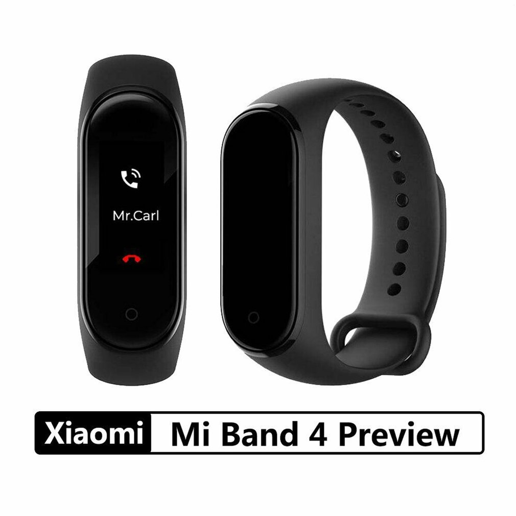 Original Xiaomi Mi Band 4 Smart Wristband Bluetooth 5 0 music Smart Miband 4 Bracelet Heart Rate AMOLED Color Touch Screen in Smart Wristbands from Consumer Electronics