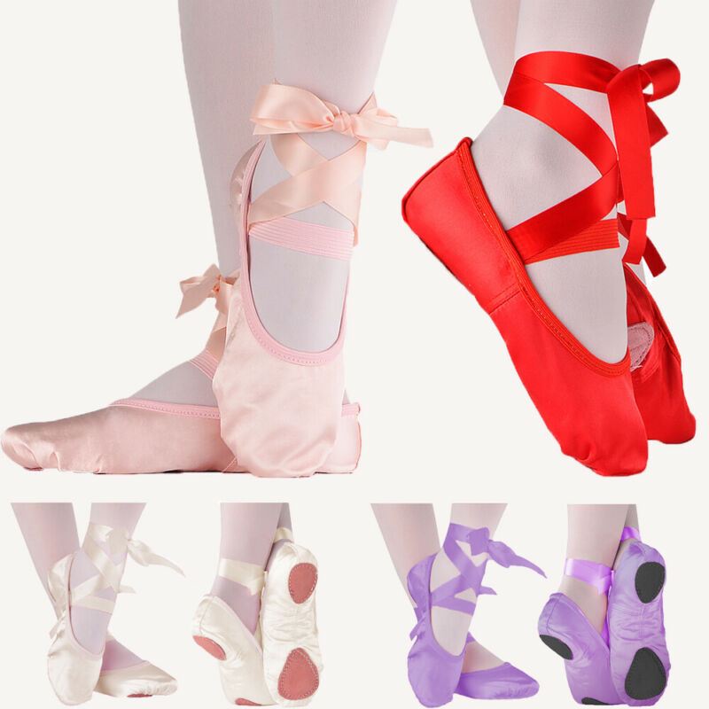 Soft Ballet Shoes Dance Toddler Baby