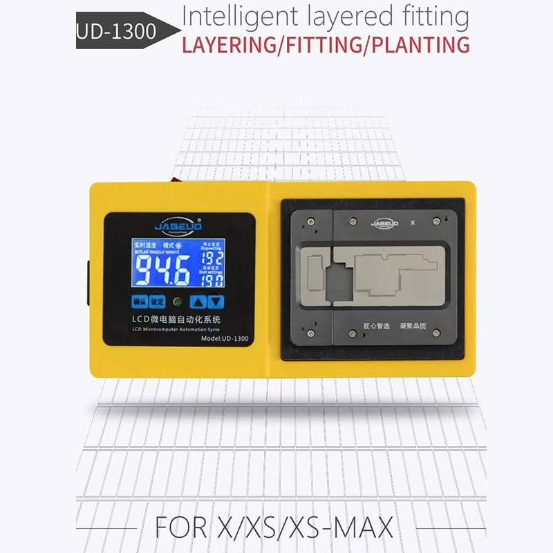 UD-1300 Intelligent Motherboard Separator Plate LCD Display Non Heat Air Gun Laminating Reballing Platform for Phone X XS XSMAX