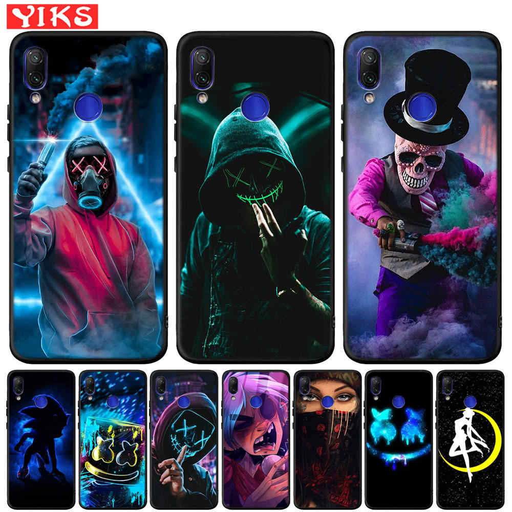 The Skull Cover For Mi A2 Lite 5X 6X 9t Pocophone F1 Brand Boy Case For Redmi 5 Plus 6 K20 Pro 4X 6 6A 7 7A Note 6 7 8 Pro 5